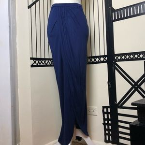 ASOS blue maxi skirt